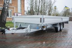 Onboard Brenderup 5520 trailer