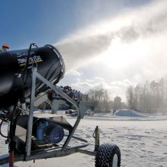 Systems of artificial snow making of SMI