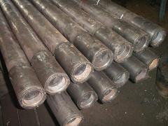 Hot-rolled pipes