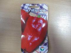 Seeds of sweet pepper