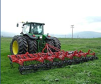 Cultivators for preseeding processing ground ZEUS