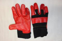 Gloves workers leather + special fabric