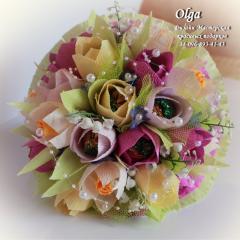 "Bouquet from candies ""Spring Haze"