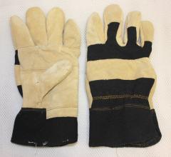 Gloves economic split + fabric wholesale
