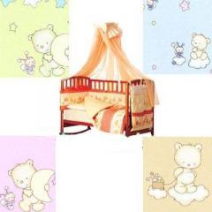 Детский постельный комплект Twins Comfort, 8 эл.