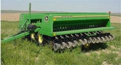 Сеялка механическая зерновая Джон Дир