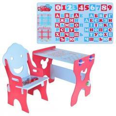 Парта W015-1 со стулом Фиксики