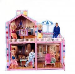 Дом Барби двухэтажный коробке 53