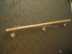Hand-rail wooden