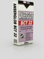 Mix plaster finishing gray ANSERGLOB BCT 22