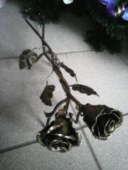 Розы кованные