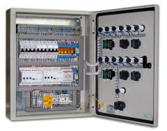 Automatic equipment boards