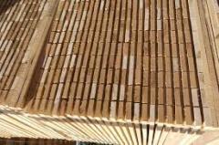Timber complete block pine, alder, fir-tree,