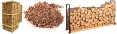 Firewood pine (alder, pine, fir-tree, beech, it is