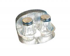 Набор для специй соль-перец с подсалфетником