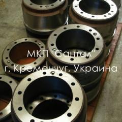 Brake drum KRAZ, spare parts KRAZ, sale, delivery