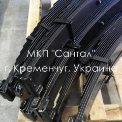 Spring of KRAZ, spare part KRAZ, forward, back,