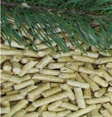 Wood granules from sawdus