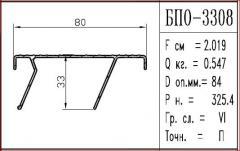 Профиль алюминиевый БПО-3308