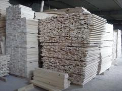 Furniture dimension lumber from wood