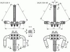 Зажим аппаратный 3А2А