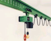 Two-frame suspended cranes of the KT 2000 series,