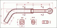 Зажим натяжной транспозиционный ТРАС-600-1