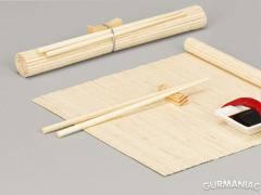 Набор для суши Zeller 6 предметов светлый бамбук