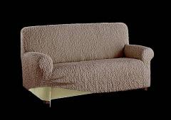 The cover approaches on a sofa with standard