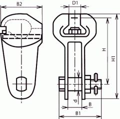 Ушки У2К-7-16
