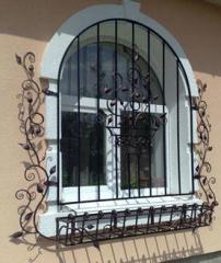 Shod lattices on windows, production of lattices