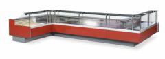 Angular refrigerated showcase ZITA