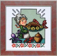 Набор для вышивки Весела кухня ВК-07