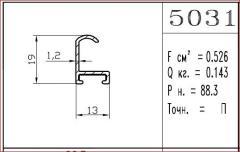 Aluminum shape 5031