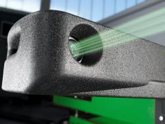 3D stand of adjustment of wheel alignment angles