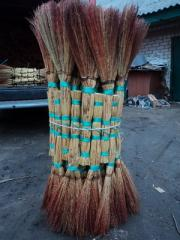 Sorghum broom, brooms, brooms from the producer