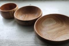 Посуда деревянная