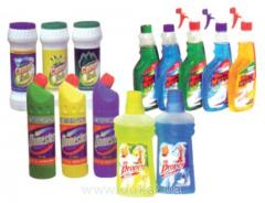 Detergents for the industry