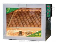 Ламповый инкубатор с автопереворотом 60 яиц (код