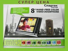 Цветной домофон Спартак камера LCDс цветным