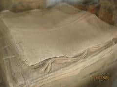 Jute and linen bags 56kh95sm, on 50 kg. from LLC