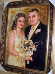 Expensive portraits, Wedding gifts What to present
