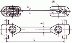 Распорки дистанционные типа РГ