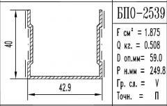 The aluminum shape the BPO brand – 2539