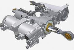 Different completion and aviation spare parts