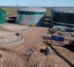 Biogas installations