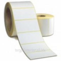 100х60 (500 pieces) Label self-adhesive semi-gloss