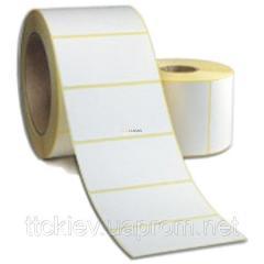 100x40(1000 pieces) Label self-adhesive semi-gloss