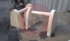Стоялки гимнастические деревянные