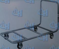 The cart for transportation of mats